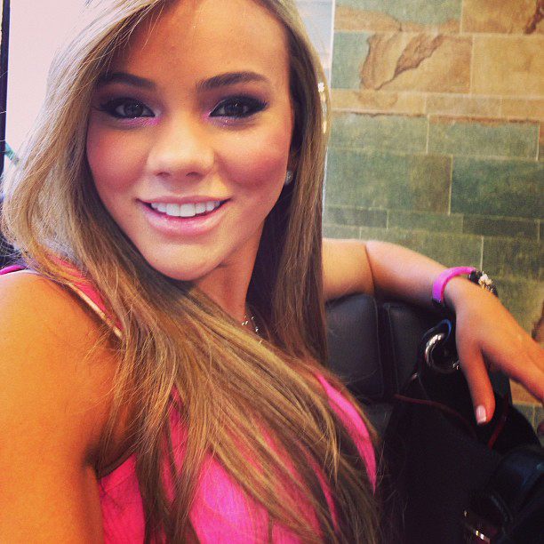 Jessica Sterling, David Ospina's wag