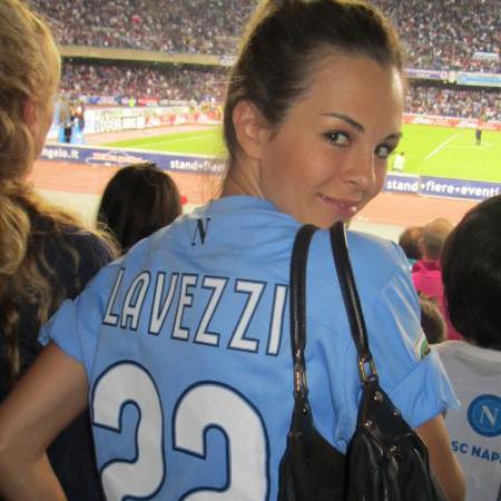 Yanina Screpante, Ezequiel Lavezzi's wag
