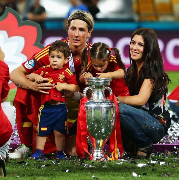 Olalla Dominguez Liste, Fernando Torres's wag