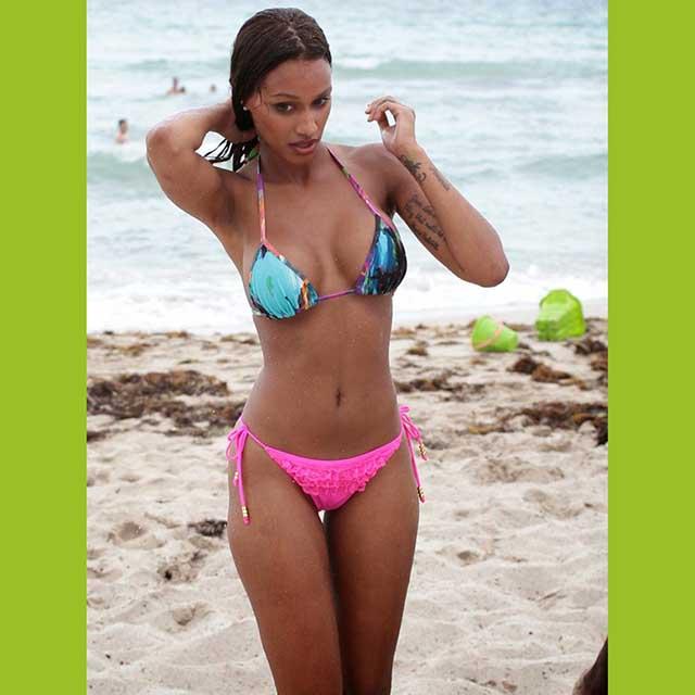 Fanny Neguesha, Mario Balotelli's wag