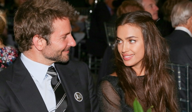 Irina Shayk and Bradley Cooper in public