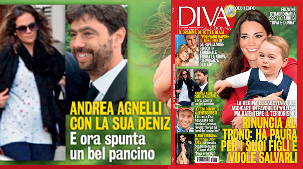 Andrea Agnelli and Deniz Akalin, the Juventus scandal