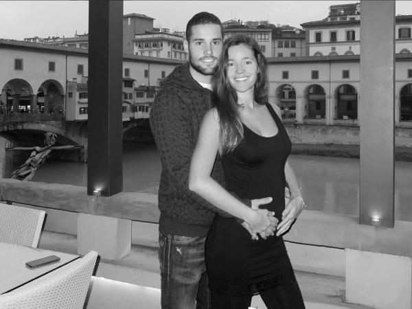 Malena Costa is pregnant