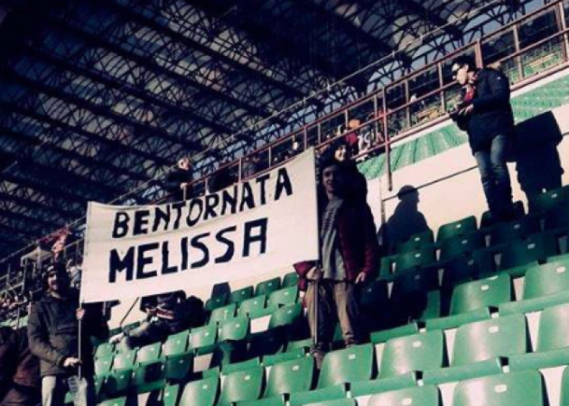 Only one positive thing for AC Milan fans: the return of Melissa
