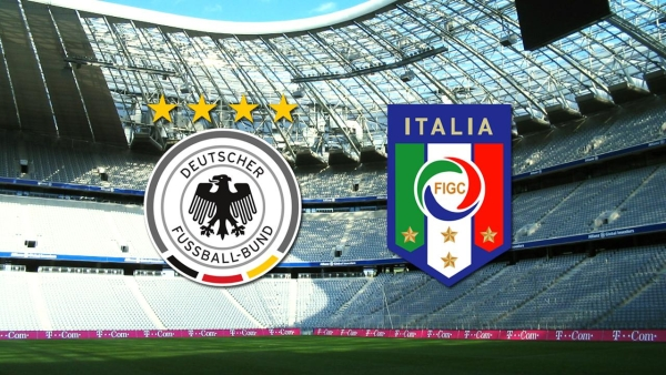 Germany-Italy: wags against wags