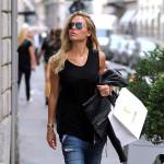 Ilary Blasi, Francesco Totti's wag