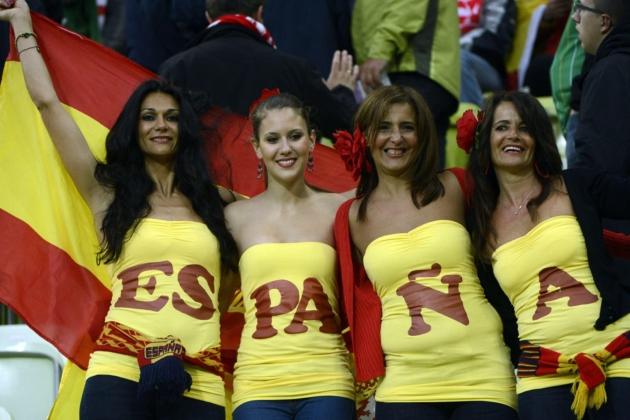 Euro 2016 WAGs: Spain