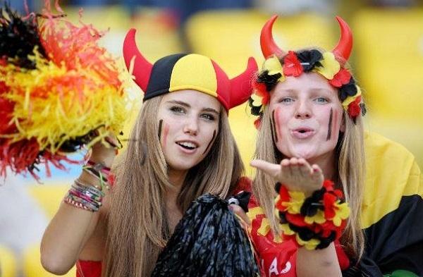 Euro 2016 WAGs: Belgium