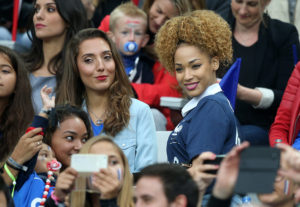 Tiziri Digne, Lucas Digne's WAG and Sephora Coman Kingsley Coman's WAG